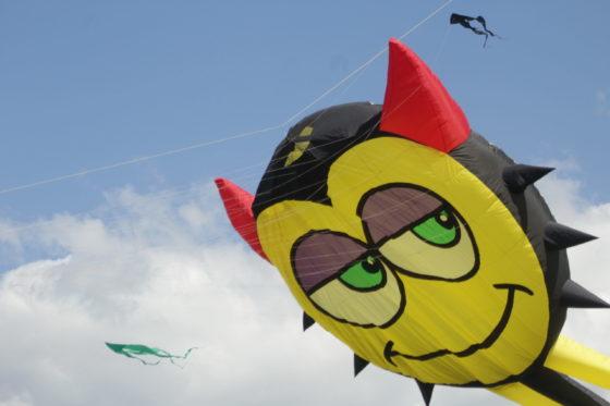 Запуск воздушного змея